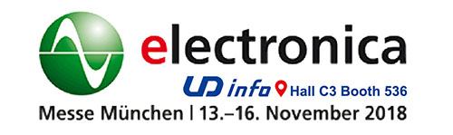 Join us at Electronica 2018 in Germany