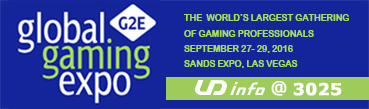 Welcome to 2016 the Global Gaming Expo (G2E) in Las Vegas