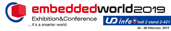 Welcome to join us at Embedded World 2019
